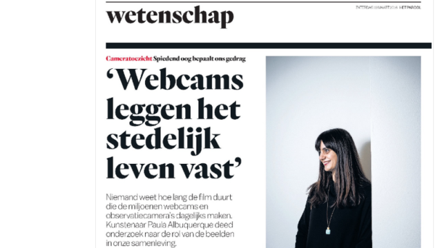 Interview - Het Parool - March 2016